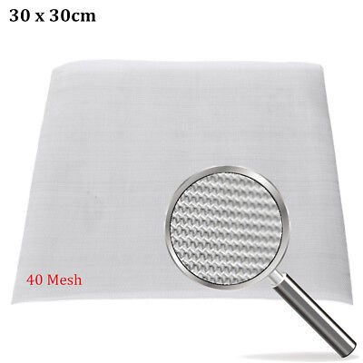 "40 Mesh / 425 Micron Stainless Steel Filter Filtration Woven Wire Screen 12""X12"""