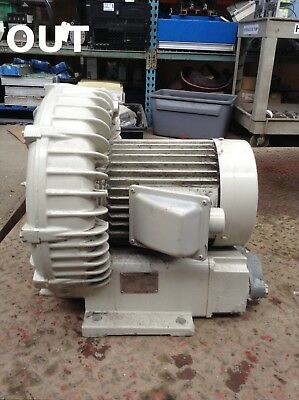 Fuji Electric Type VFC608AF Regenerative Side Channel Blower 3.4kW 469V 3PH 60Hz
