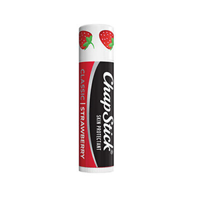 (6 Pack) Chapstick Classic - Strawberry (Free Ship)