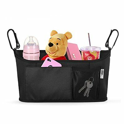 Top Universal Stroller Organizer by SNHNY; Best Accessories; Baby Diaper Bag