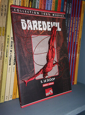 Daredevil, 100% marvel Tome 5 : le scoop - Panini Comics 2004 - Marvel