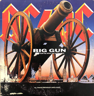 AC/DC Maxi CD Big Gun - France (G/VG+)