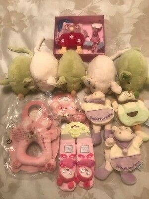 'JOBLOT' NEW Doudou et Compagnie - Baby Toys - Assortment x12