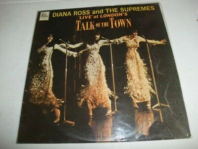 SUPREMES: Live At The Talk Of The Town (UK-Tamla Motown 1968)
