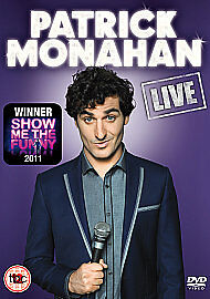 Patrick Monahan Live: Show Me The Funny Winner's DVD, DVD, New, FREE & Fast Deli