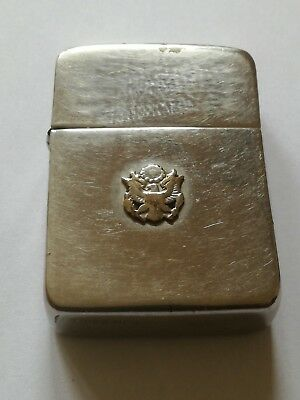 "ZIPPO "" Great seal of the united states "" 1937-1941/1942 rare très ancien"