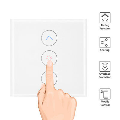 Smart Light Dimmer In Wall Touch Control WiFi Light Switch Work with Alexa