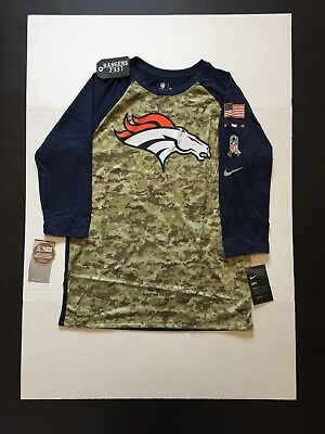 1be1be422 NIKE 2017 NFL Salute to Service Detroit Lions Sideline 3 4 T-Shirt ...