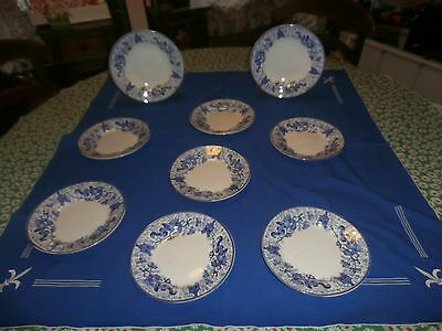 9  Assiettes  Boch  Decor  Dragon