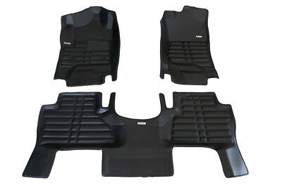 TuxMat Custom-fit 3D Car Floor Mats for Cadillac Escalade 2015-2019 Models