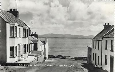 Old Postcard Loch Indaal From Port Charlotte: Isle of Islay