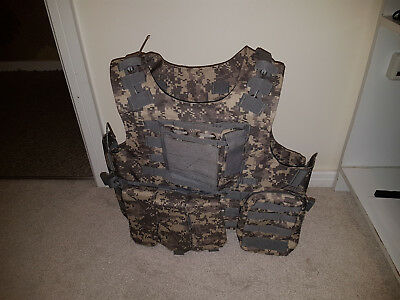 Plate Carrier Brand New Never Used. Digital Camo Pattern.