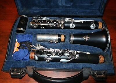 Buffet B12 Student Clarinet (inc Case, grease, pull-through) Good Cond
