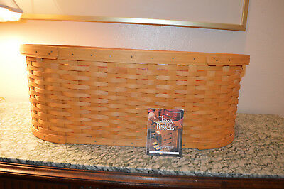 Longaberger LARGE Work Load with protector