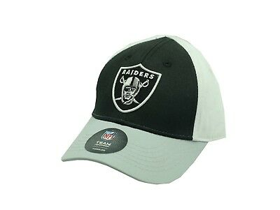 NFL Official Oakland Raiders Kids Toddler Size Hat (2-4) One Size Fits 4086222ae