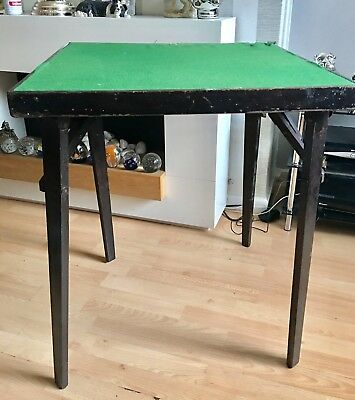 Antique Playing Card Table