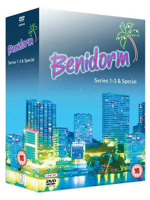Benidorm - Series 1-3 and Special  [DVD] [2009], Good DVD, Johnny Vegas, Steve P