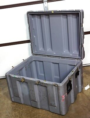 """Hardigg Pelican 34,5x28x24"""" Truck Trunk Hard Case Shipping Container Single Lid"""