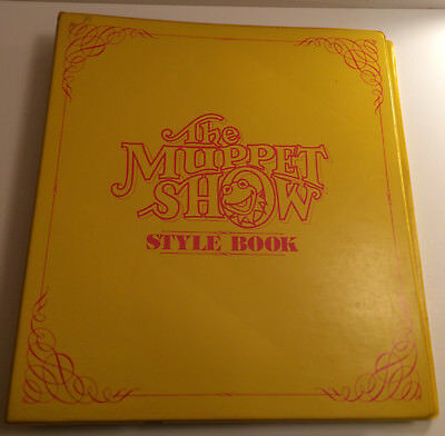 The Muppet Show Official Style Book 41Guide 1979 Jim Henson