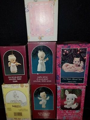 Precious Moments Figurines lot of 7 Free Shipping