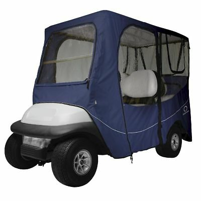 DLX GOLF CAR ENCLOSURE LONG ROOF, Navy - Classic# 40-053-345501-00