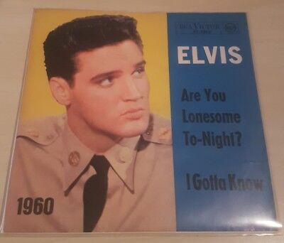 Elvis Presley – Are You Lonesome To-Night? I Gotta know 1960 GER Single Vinyl NM