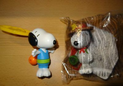 Snoopy #2 Pfadfinder #5 Basketball NEU Happy Meal McDonalds