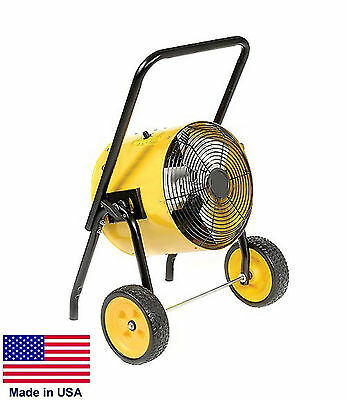 ELECTRIC HEATER - Commercial - 15 kW - 240 Volt - 1 Ph - 51,195 BTU - Portable