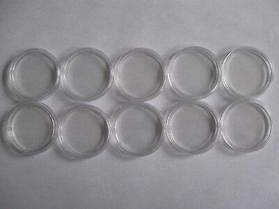 10 Lighthouse Caps 32mm Coin Capsules for Canada Nickel $1 One Dollars