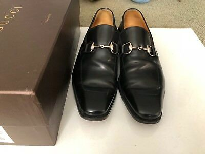 cb067f5d9aa MEN S BLACK GUCCI Loafers - Size 9D Preowned Authentic -  390.00 ...