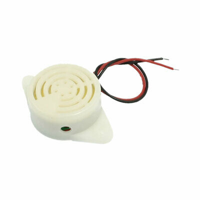 SFM-27 DC3-24V Two Wire Leads Continuous Sound Electronic Buzzer 90dB