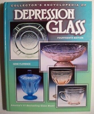 DEPRESSION GLASS PRICE VALUES COLLECTOR'S BOOK  PG Full Hardback Color pic