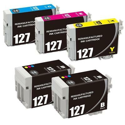 5 T127 Ink cartridge For Epson Workforce 545 60 630 840 WF-3520 WF-7010