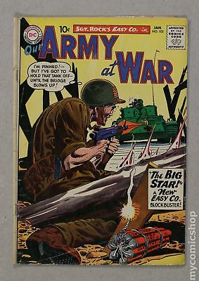 Our Army at War #102 1961 GD+ 2.5