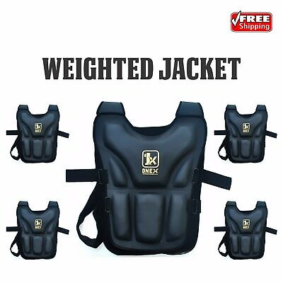 Weighted Vest 20Kg Home Gym Weight Training Running Crossfit Gym Exercise Jacket