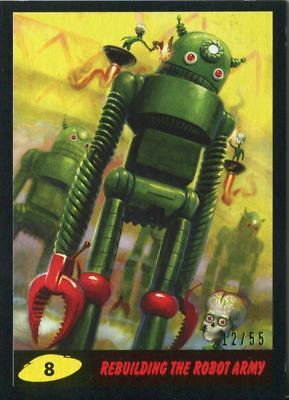 Mars Attacks The Revenge Bronze Base Card #55 Checklist 25