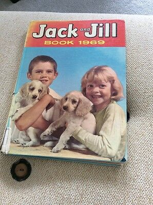 Vintage Jack And Jill Annual 1969