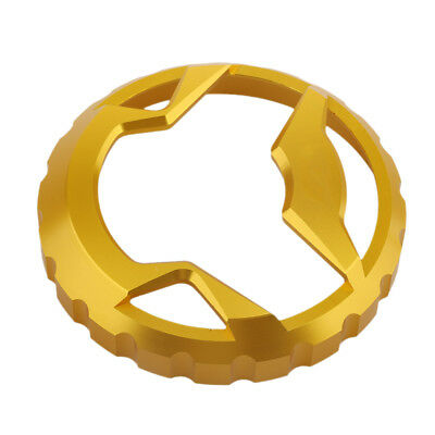 Motorcycle CNC Aluminum Fuel Tank Cap Oil Cover for Yamaha NMax155 Gold