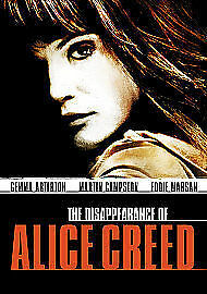 The Disappearance Of Alice Creed [DVD], in Good Condition, Gemma Arterton, Marti