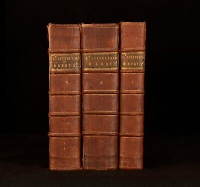 1767-71 3vols The History of the Life of King Henry the Second by Lord Lyttelton