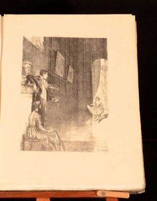 1923 Jane Eyre Charlotte Bronte With Lithographs by Ethel Gabain Currer Bell