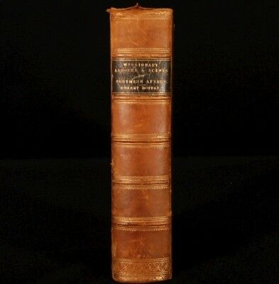 1842 Missionary Labours Scenes SOUTHERN AFRICA Moffat