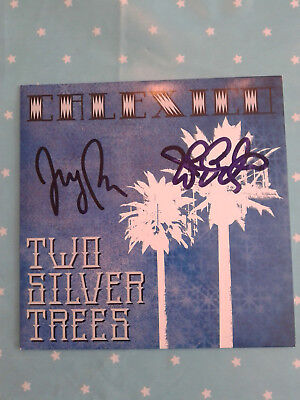 """Calexico - Signed 7"""" Vinyl Two silver trees / Giant Sand Tucson"""