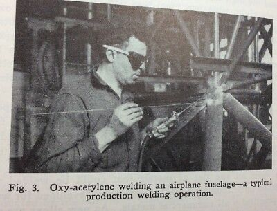 1939 331pg OXWELDER'S HANDBOOK - Instructions for Welding & Cutting PHOTOS