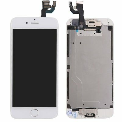 """White iPhone 6 4.7"""" Complete Screen Replacement Touch LCD Digitizer +Home Button"""