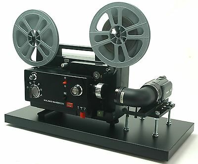 Elmo Movie Projector Telecine Video Transfer Unit, Dual 8 Full HD PAL Camera