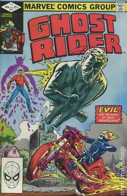 Ghost Rider (1st Series) #71 1982 FN Stock Image