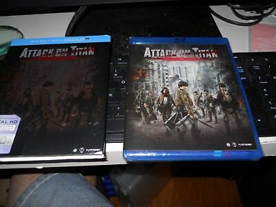 Attack on Titan Movie: Part 2 (Blu-ray/DVD Combo + UV) BRAND NEW IS SWINK WRAP