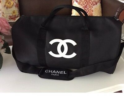 Chanel Duffel Gym Vip Gift With Removable Strap