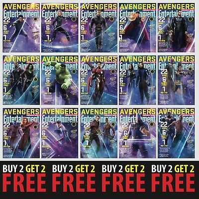 MARVEL POSTER COVERS A4/A3 300gsm Movie Entertainment Weekly Wall Deco Fan Art